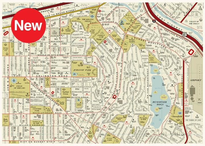 Straßenkarte voller Filmtitel Film_map_03