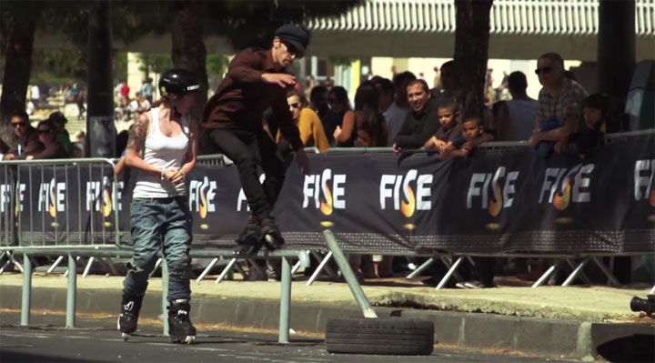 Inline-Action: FISE 2012 Slopestyle Fise_2012_Slopestyle_03