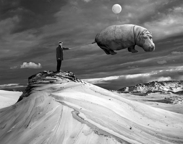 Surreale Fotomanipulation: Dariusz Klimczak