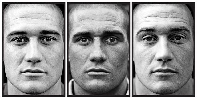 Fotoreihe: Soldaten vor, während & nach dem Kriegseinsatz Marked_01