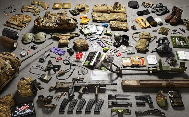 Soldaten-Equipment von 1066 bis 2014