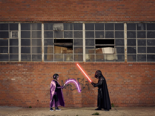 Fotografie: Darth Vader und sein Opa The_Darks_01
