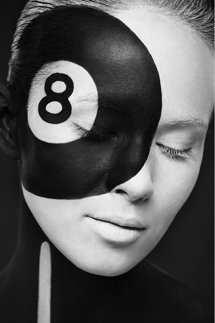 schwarzweiße Gesichtsillustrationen face_illustrations_02