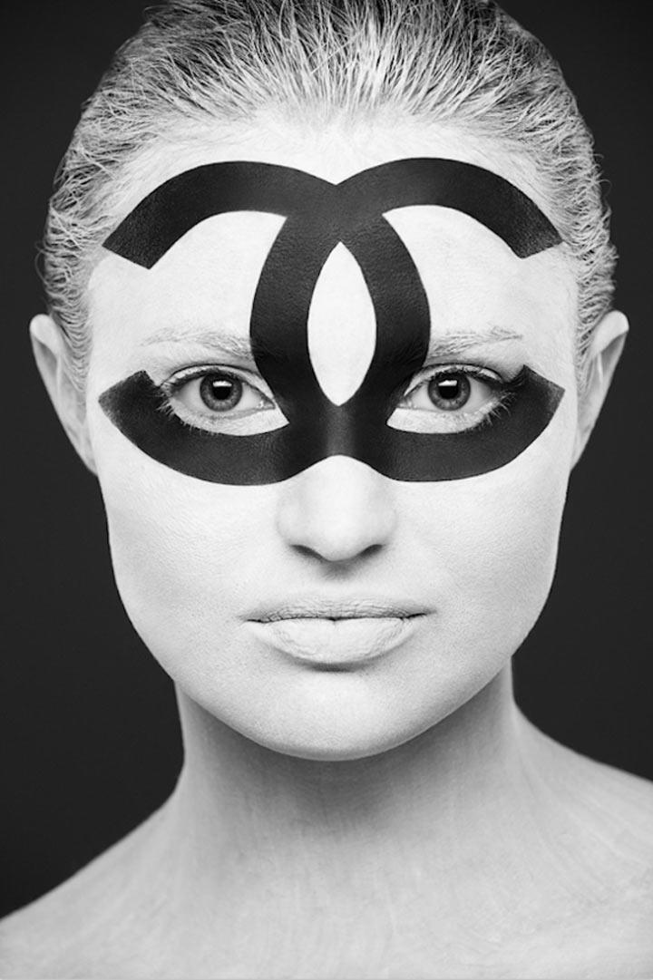 schwarzweiße Gesichtsillustrationen face_illustrations_05