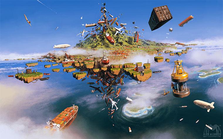 surreale Fantasiegemälde: Alex Andreev Alex-Andreev_07