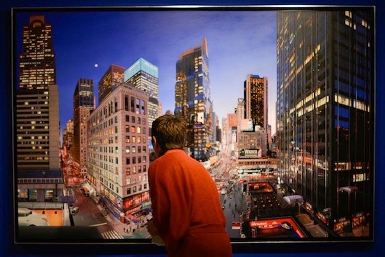 fotorealistische Stadtszenerie-Gemälde Bertrand_Meniel_08