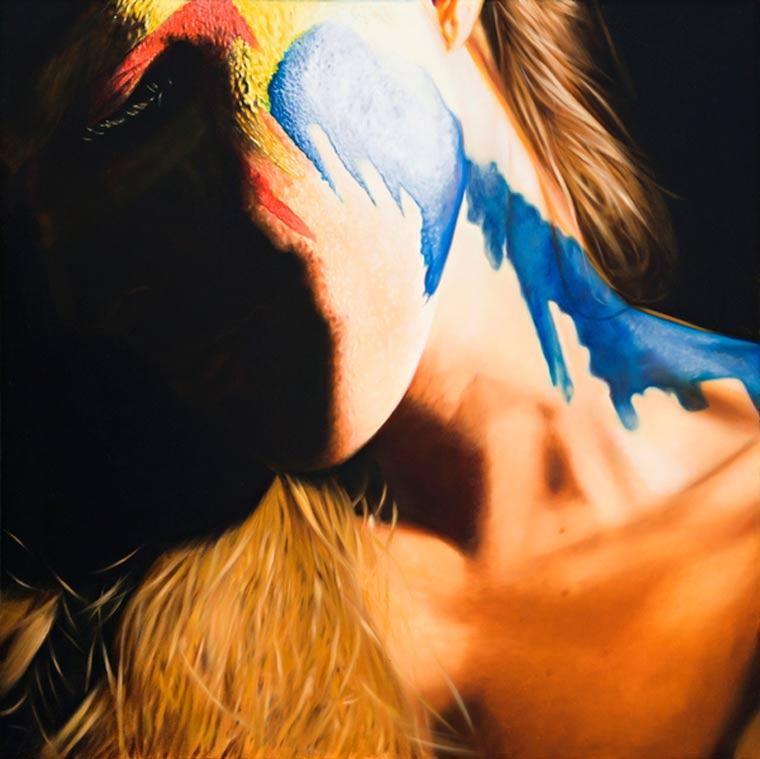 realistische Malerei: sexy Superheldinnen JKB_Fletcher_05
