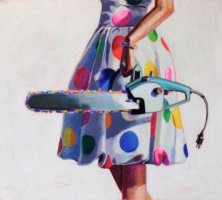 Malerei: Frauen mit Dingen Kelly_Reemsten_01