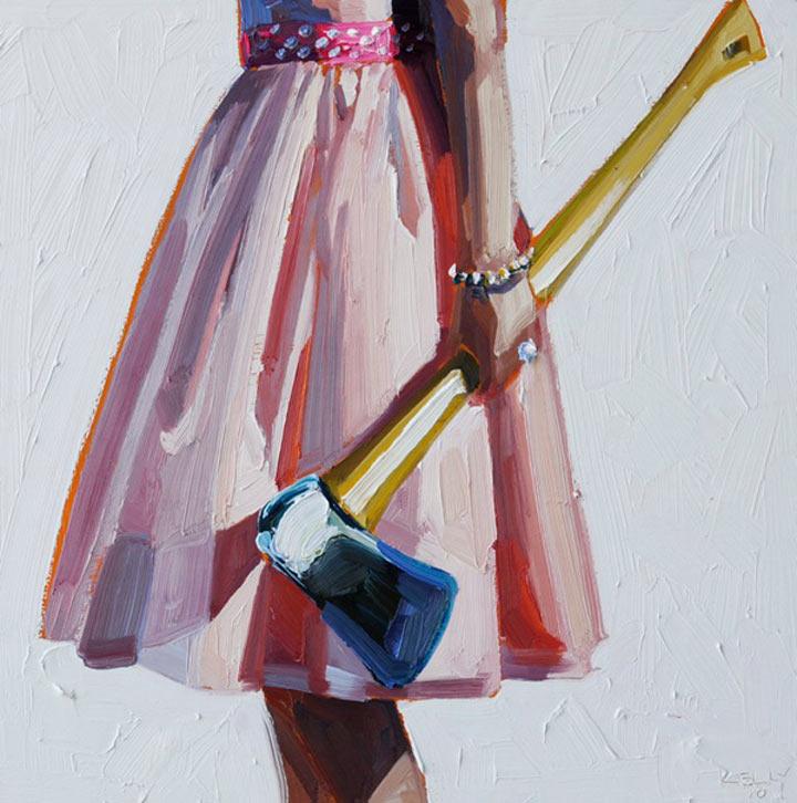 Malerei: Frauen mit Dingen Kelly_Reemsten_02