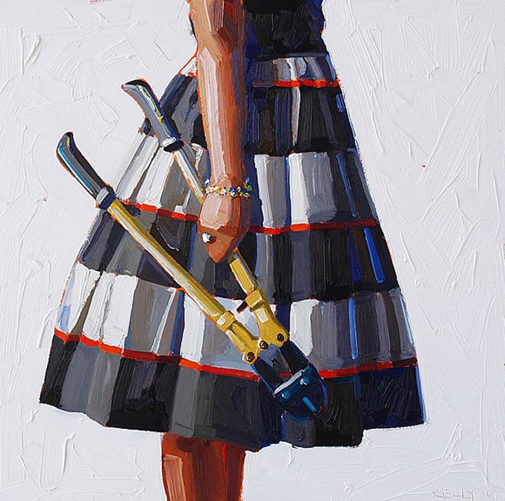 Malerei: Frauen mit Dingen Kelly_Reemsten_03
