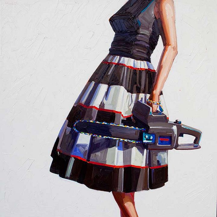Malerei: Frauen mit Dingen Kelly_Reemsten_04