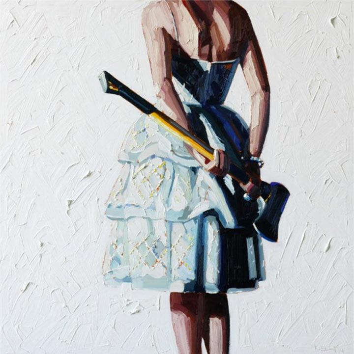 Malerei: Frauen mit Dingen Kelly_Reemsten_08