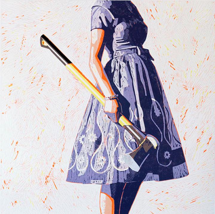 Malerei: Frauen mit Dingen Kelly_Reemsten_09