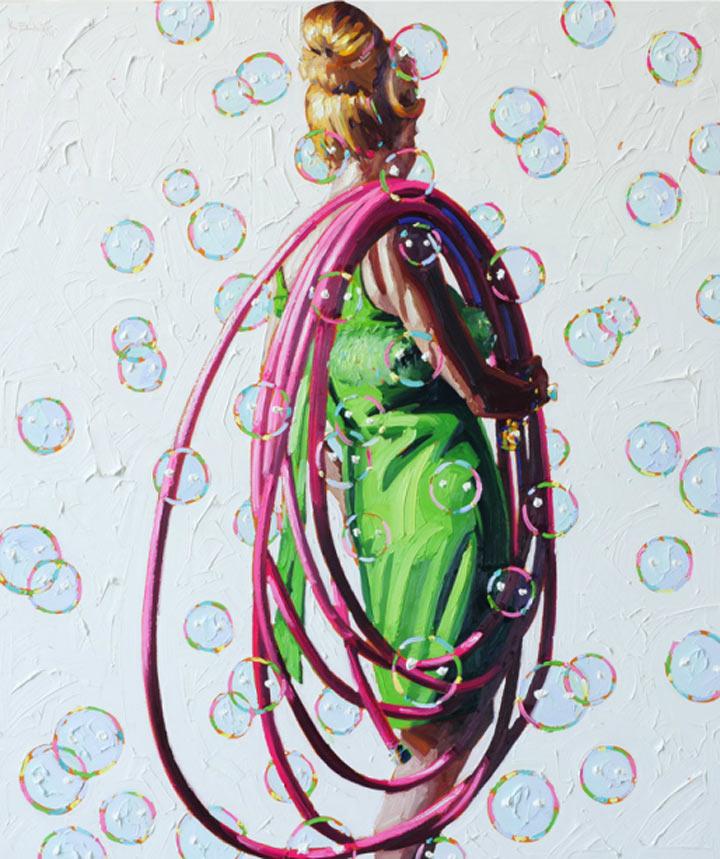 Malerei: Frauen mit Dingen Kelly_Reemsten_10