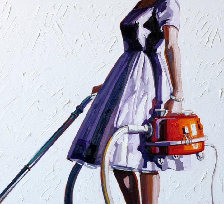 Malerei: Frauen mit Dingen Kelly_Reemsten_11
