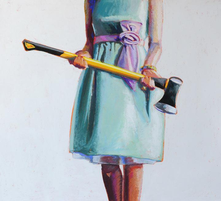 Malerei: Frauen mit Dingen Kelly_Reemsten_12
