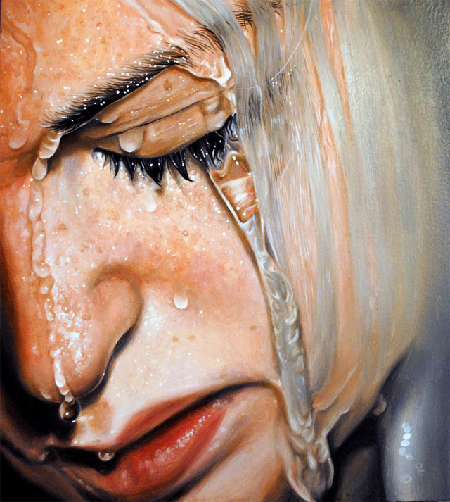 realistic paintings by Linnea Strid