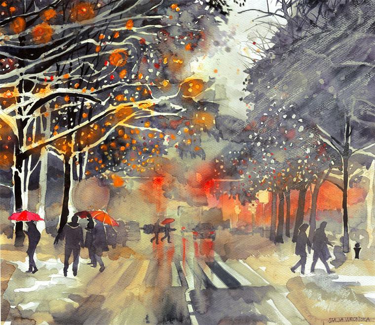 Malerei: Maja Wrońska