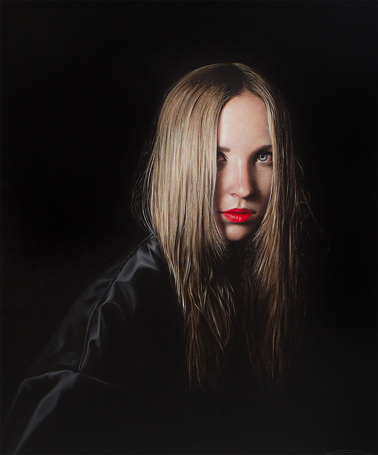 Hyperrealistische Malerei: Alejandro Monge Monge_02