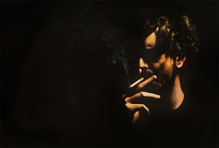 Hyperrealistische Malerei: Alejandro Monge Monge_06