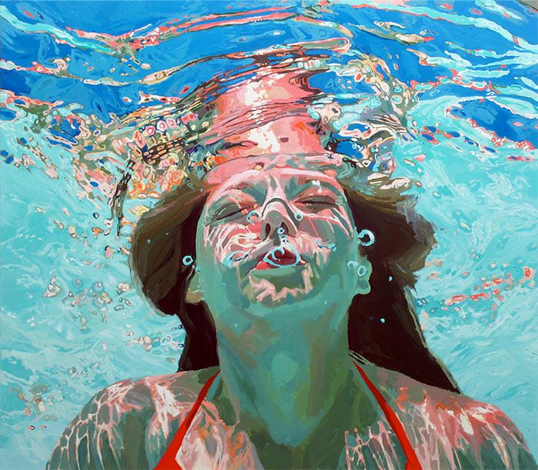 Gemalte Unterwasser-Portraits Samantha_French_01