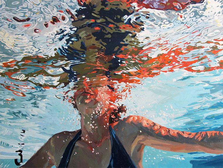 Gemalte Unterwasser-Portraits Samantha_French_02