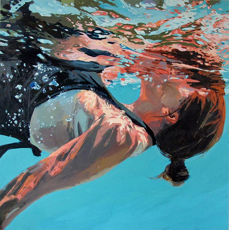 Gemalte Unterwasser-Portraits Samantha_French_04