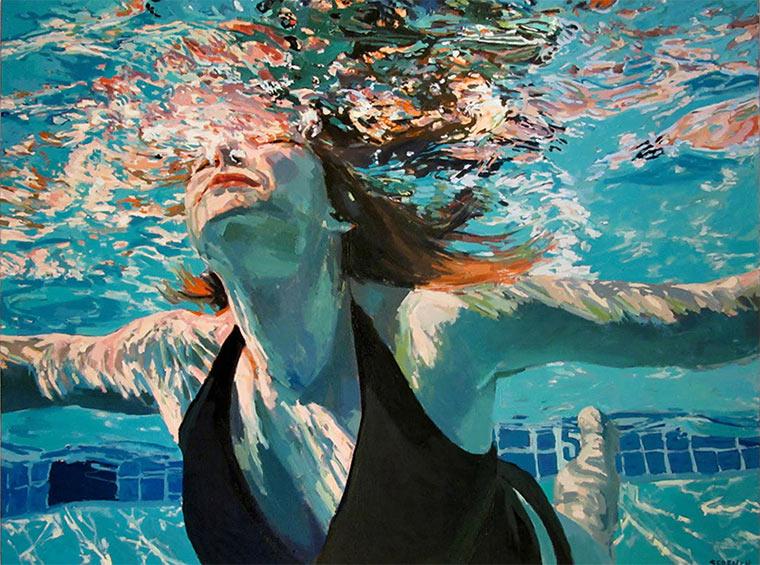 Gemalte Unterwasser-Portraits Samantha_French_05