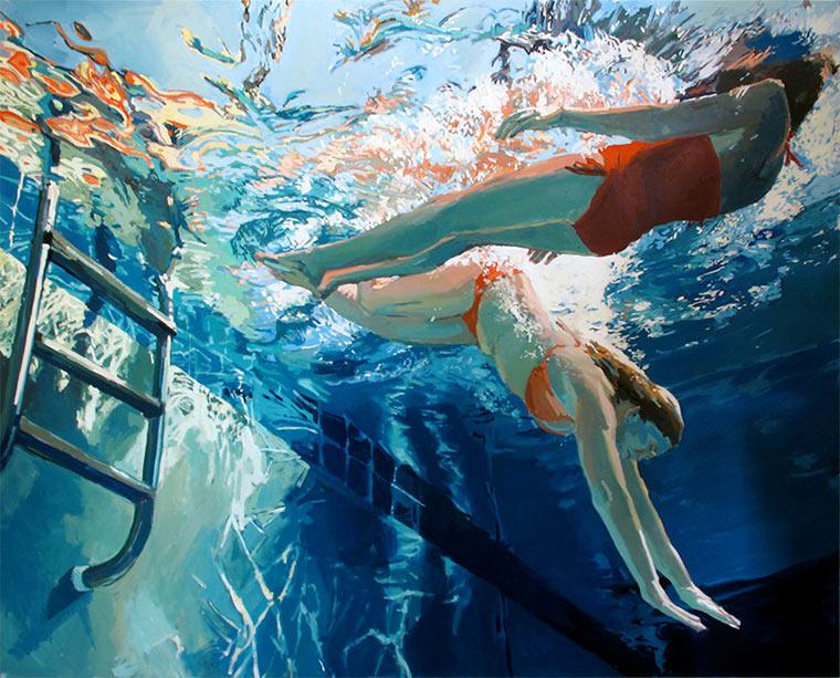 Gemalte Unterwasser-Portraits Samantha_French_06