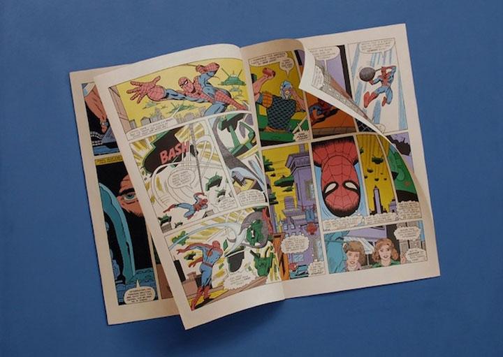 hyperrealistische Gemälde von Comic-Heften Sharon_Moody_02
