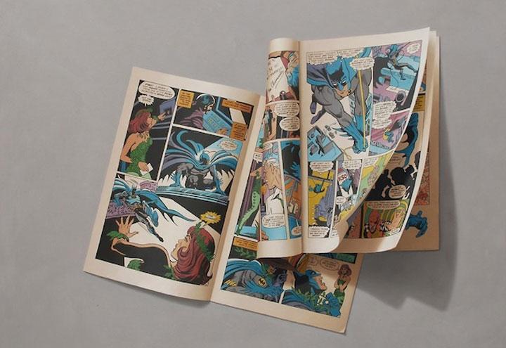 hyperrealistische Gemälde von Comic-Heften Sharon_Moody_03