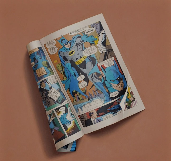 hyperrealistische Gemälde von Comic-Heften Sharon_Moody_06