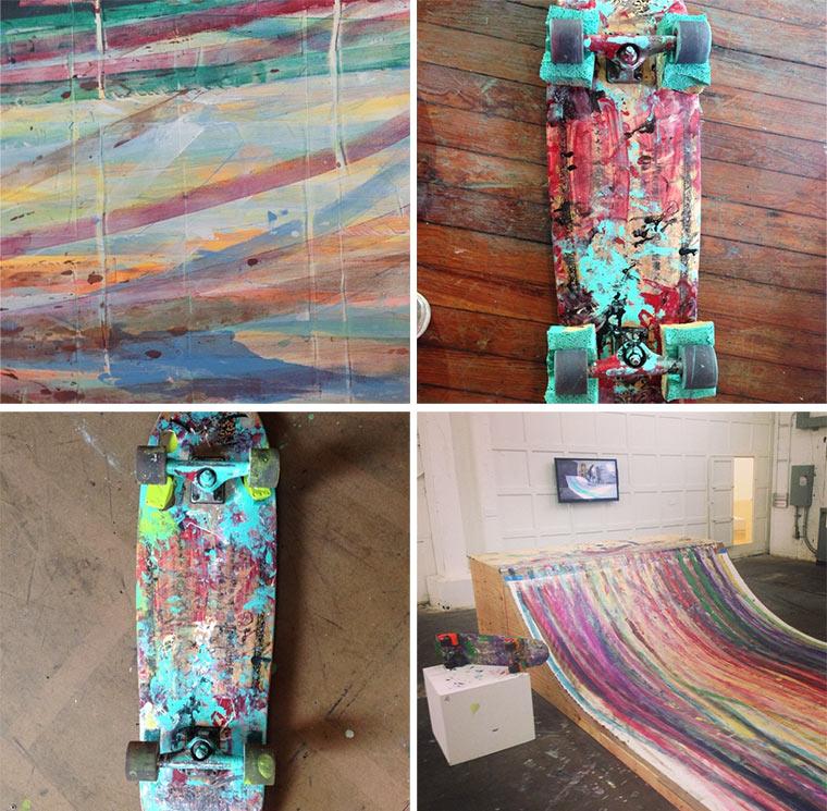 Gemälde mit dem Skateboard malen Skateboard_paintings_02