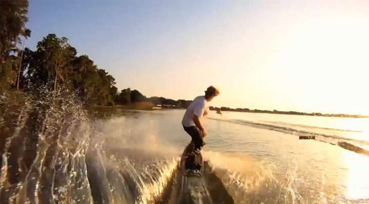 GoPro-Surf-Fun: Ride the Wake