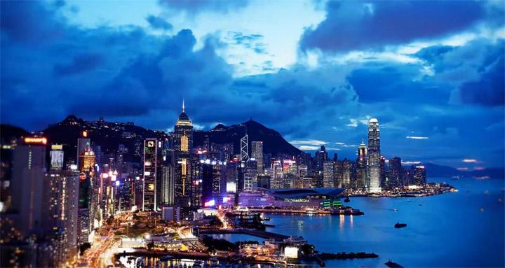 Timelapse: Hong Kong Accelerate Hong_Kong_Timelapse
