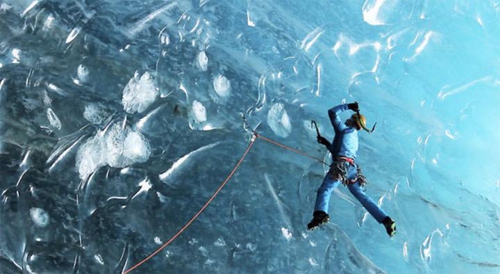 Eisklettern mit Tim Emmett