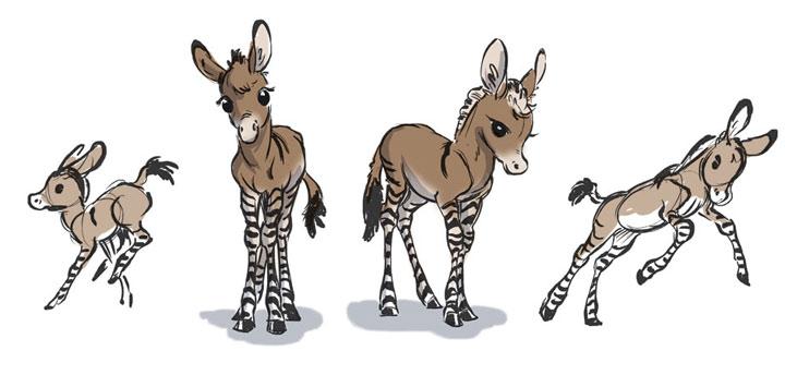 Tierillustrationen von A bis Z A-to-Zoo_01