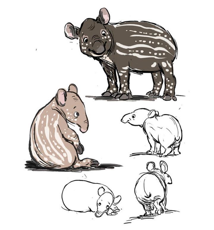 Tierillustrationen von A bis Z A-to-Zoo_03