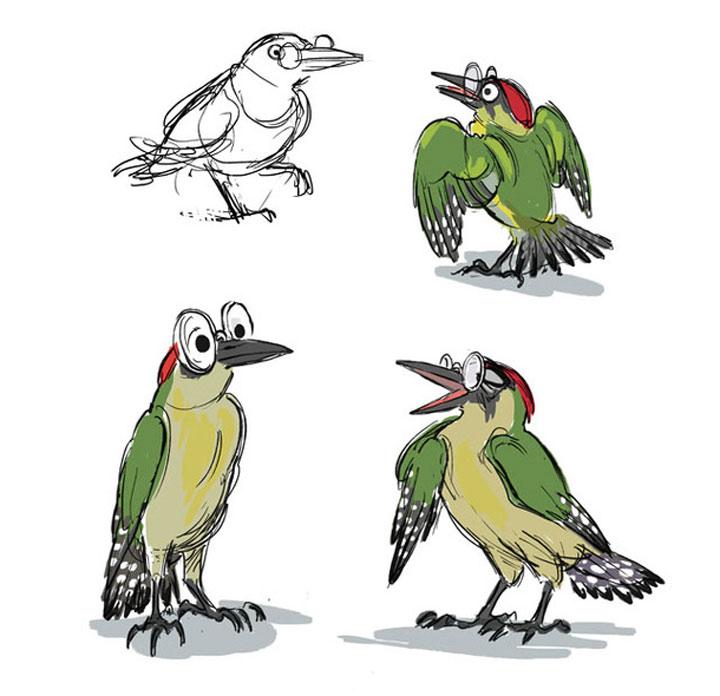 Tierillustrationen von A bis Z A-to-Zoo_07