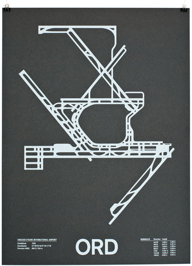 Design: Minimalistische Flughafengrundrisse Airport_Screenprints_01