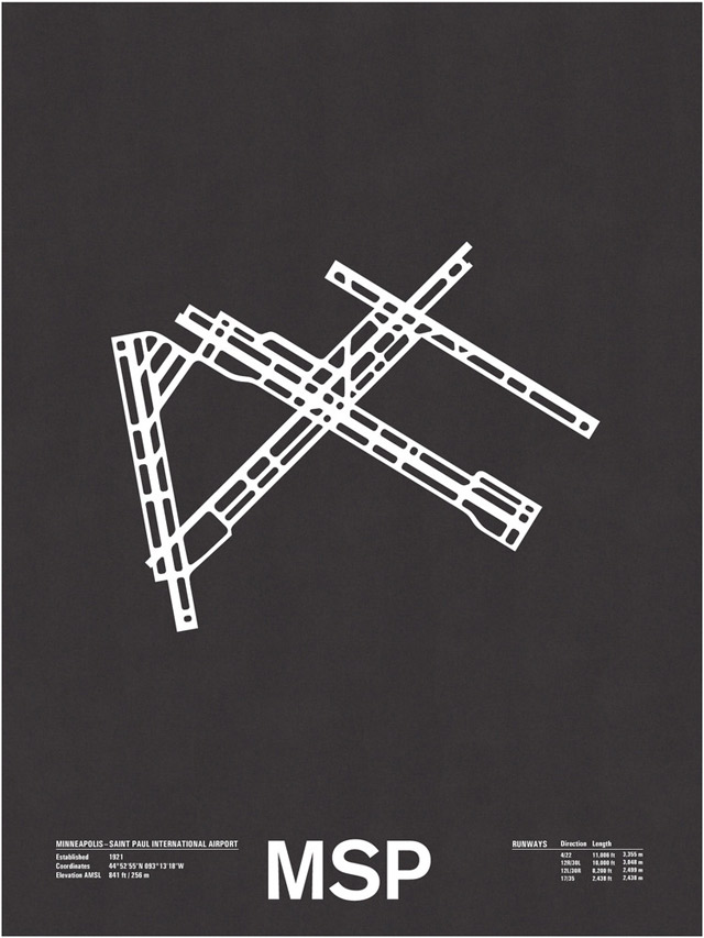 Design: Minimalistische Flughafengrundrisse Airport_Screenprints_04