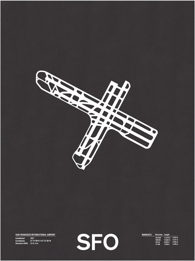 Design: Minimalistische Flughafengrundrisse Airport_Screenprints_05