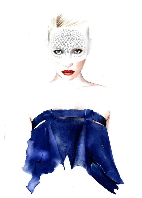 Fashion Illustration: Antonio Soares Antonio_Soares_04