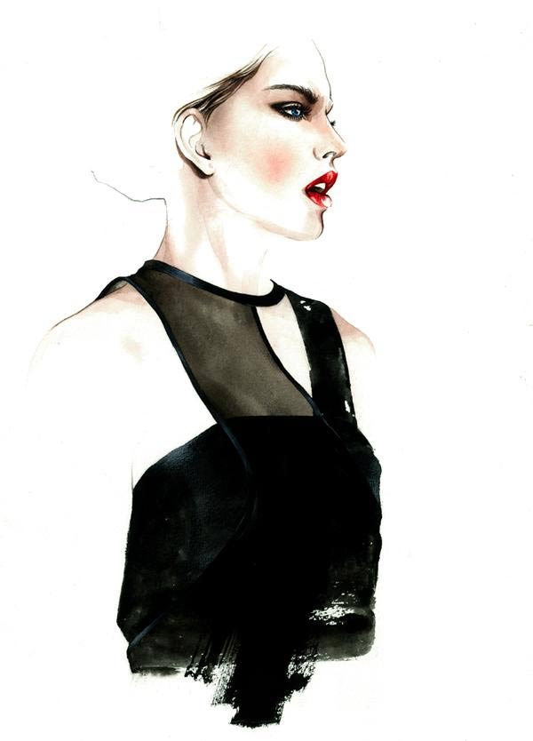 Fashion Illustration: Antonio Soares Antonio_Soares_05