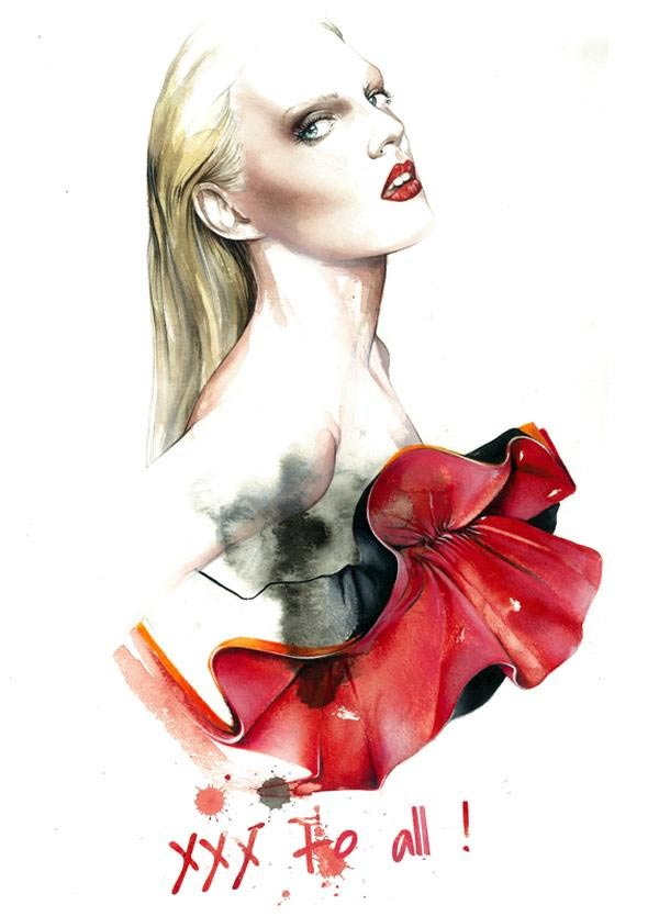 Fashion Illustration: Antonio Soares Antonio_Soares_06