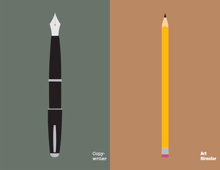 Illustration: Copywriter vs. Art Director CW_vs_AD_02