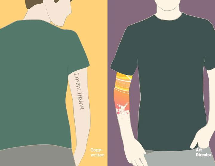Illustration: Copywriter vs. Art Director CW_vs_AD_07