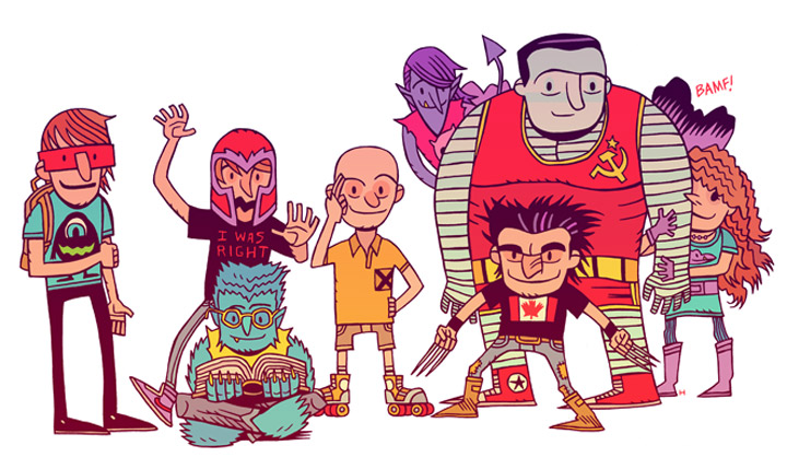 Mashup-Illustrationen: Dan Hipp Dan_Hipp_05