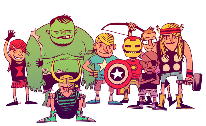 Mashup-Illustrationen: Dan Hipp Dan_Hipp_06