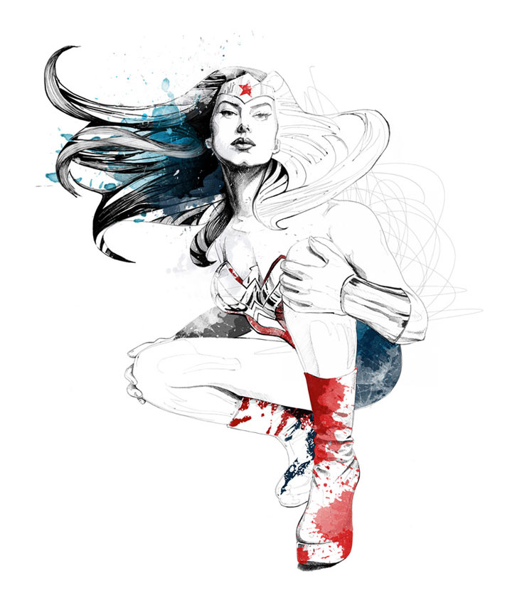 Farbenfrohe Illustration: David Despau David_Despau_12